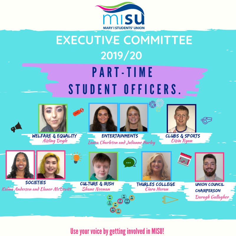 Student Officers Exec 2019 20