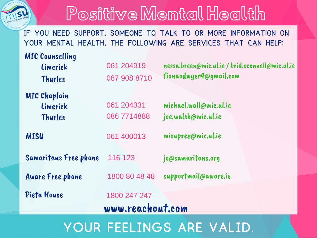 Positive Mental Health support